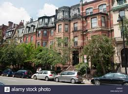 heritage residential rowhouses on beacon street back bay area
