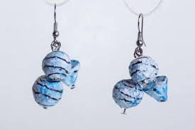 paper mache earrings paper mache earrings world peaces