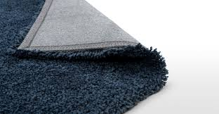 Inky Blue Blue Rug Extra Large Shaggy Plain 200 X 300cm Dellis Made Com