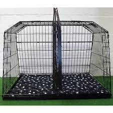 pet world toyota land cruiser lwb sloping car dog cage cages