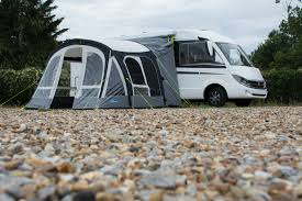 Inflatable Awnings For Motorhomes Motor Fiesta Air Pro 350 Drive Away Inflatable Awning For