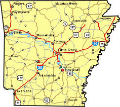 us map with arkansas state of arkansas map free printable maps