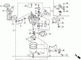 honda gx160 carburetor parts diagram basic car part diagram