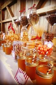 Wedding Candy Table The 25 Best Rustic Candy Buffet Ideas On Pinterest Rustic Candy