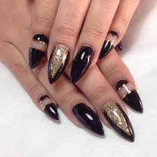 28 black stiletto nail art designs ideas design trends