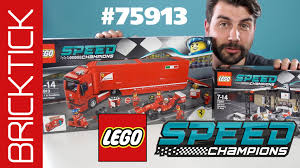 ferrari lego truck lego speed champions 75913 f14 t u0026 scuderia ferrari truck lego