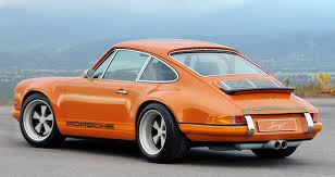 custom porsche 911 for sale singer 911 offers vintage looks modern appointments