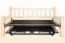 bedroom upholstered trundle bed pop up trundle bed frame