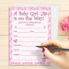 baby shower invites for girls free printable invitation design