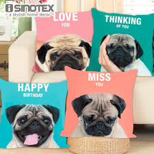 pug home decor aliexpress com buy cushion cover french bulldog pug dog colorful