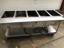 duke gas steam table commercial steam table ebay