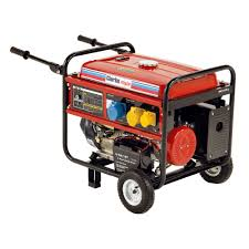 clarke fg5100es 5 5kva petrol generator with electric start