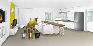 dessiner en perspective une cuisine deco p 7 32 stéphanie auzat décoration décoratrice