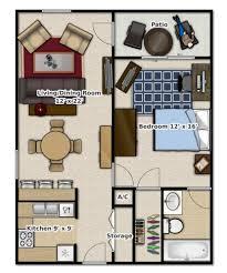 one bedroom house floor plans 25 one bedroom houseapartment plans 1 house floor open floo luxihome