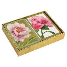 caspari cards caspari cards peonies simon lucas bridge supplies