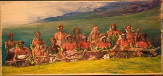 file john la farge chiefs and performers in war dance fiji