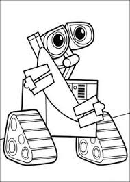 wall hand hand robots coloring pages robot