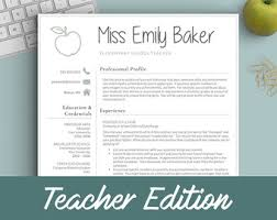 apple pages resume templates apple pages resume etsy