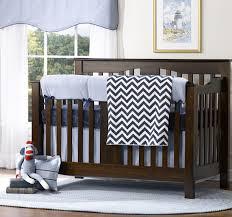 classic blue oxford 4 piece crib bedding set twinkle twinkle