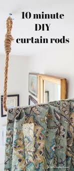 Nautical Room Divider Pipe Dreams Aka Build A Diy Curtain Rod In 10 Minutes Diy