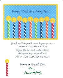 birthday card messages srasfanz projects birthday card for pete 2011