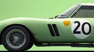 green ferrari 250 gto 3505 u2013 24h le mans 1962 colors of speed