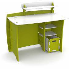 Black Wood Desk Furniture Black Wooden Corner Desk With Shelves And Keyboard Solid