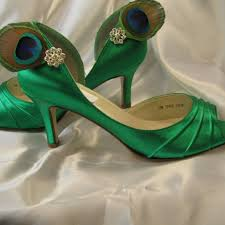 wedding shoes green wedding shoes emerald green peacock bridal shoes abiddabling on