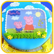 peppa pig cakes peppa pig cake the office cake