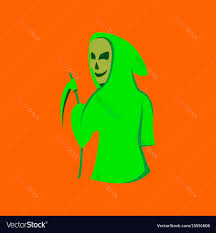 background of halloween flat on background of halloween death royalty free vector