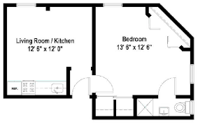 Chicago Apartment Floor Plans Floor Plans Of Beachwalk Apartments In Chicago Il