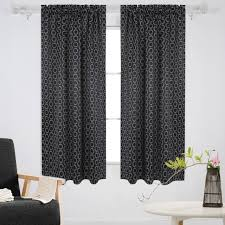 Room Darkening Curtain Rod Home Decor Cool Room Darkening Curtains And Deconovo Blackout