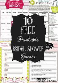 free bridal shower 10 free printable bridal shower