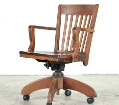 antique swivel office chair parts desk chairs vintage oak mission style new
