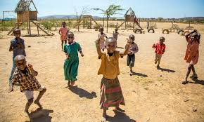 Dancing African Child Meme - the village where men are banned global development the guardian