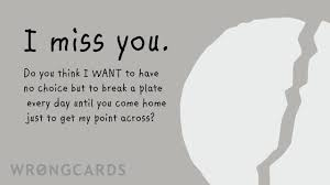 free missing you ecards missing you cards at wrongcards