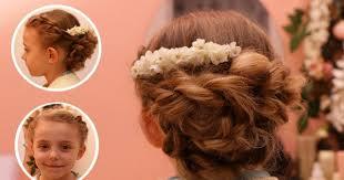 coiffure mariage enfant coiffure enfant mariage notre tuto pour coiffer vous même votre