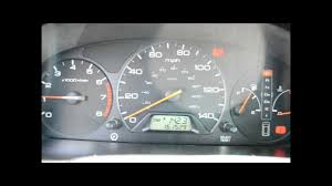 how to reset the maintenance light on a 1999 2004 honda odyssey