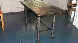 hand crafted kitchen tables metal kitchen table modern top dining tables hayneedle with 5