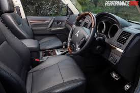 2015 mitsubishi outlander interior 2015 mitsubishi pajero exceed review video performancedrive