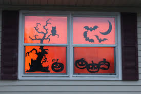 windows source halloween decorating ideas source halloween window