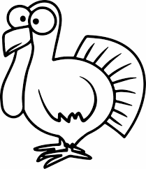 turkey coloring page u2013 coloring pages
