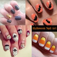 the halloween nail art and its dark color domination graham reid