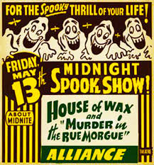 classic halloween monsters http vintageocd files wordpress com 2012 10 house of wax spook