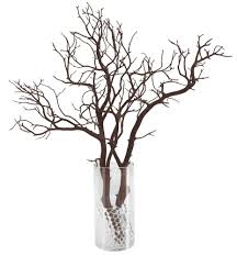 manzanita tree branches manzanita branch party pack 12 complete centerpieces shipping