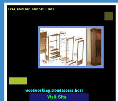 Free Wooden Gun Cabinet Plans 17 Beste Ideer Om Gun Cabinet Plans På Pinterest