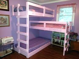 3 Tier Bunk Bed 3 Tier Bunk Bed Bunk Bunk Bed Plans White Bunk Bed
