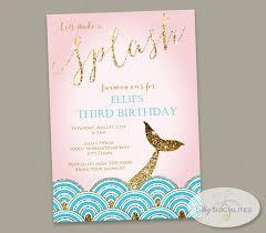 gold glitter mermaid tail invitation mermaid tails gold glitter