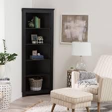 finley home redford corner bookcase walmart com