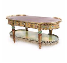 Coffee Table Sale by Furniture Highland Coffee Table By Mackenzie Childs Sale With